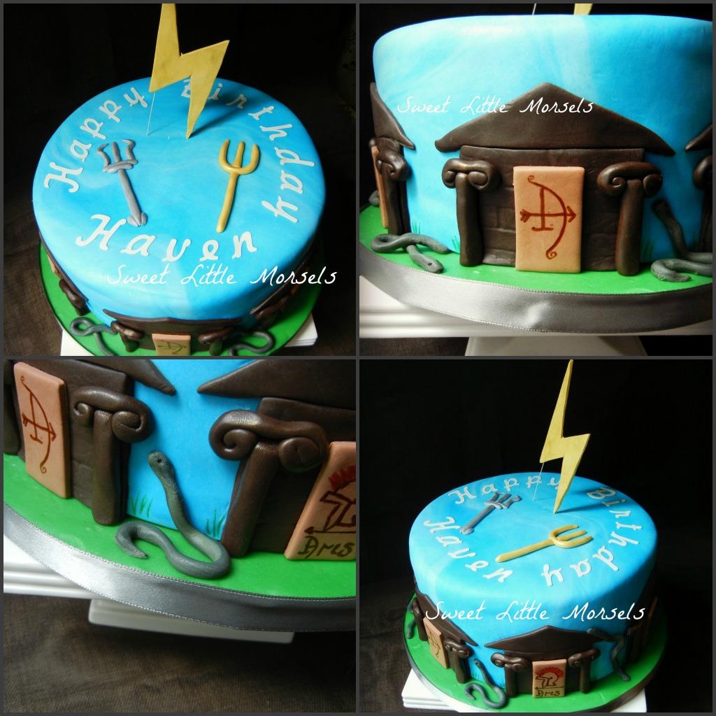 Percy Jackson Cakes Ideas