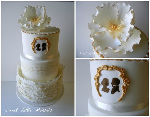PicMonkey Collage - Ivory Wedding Cake