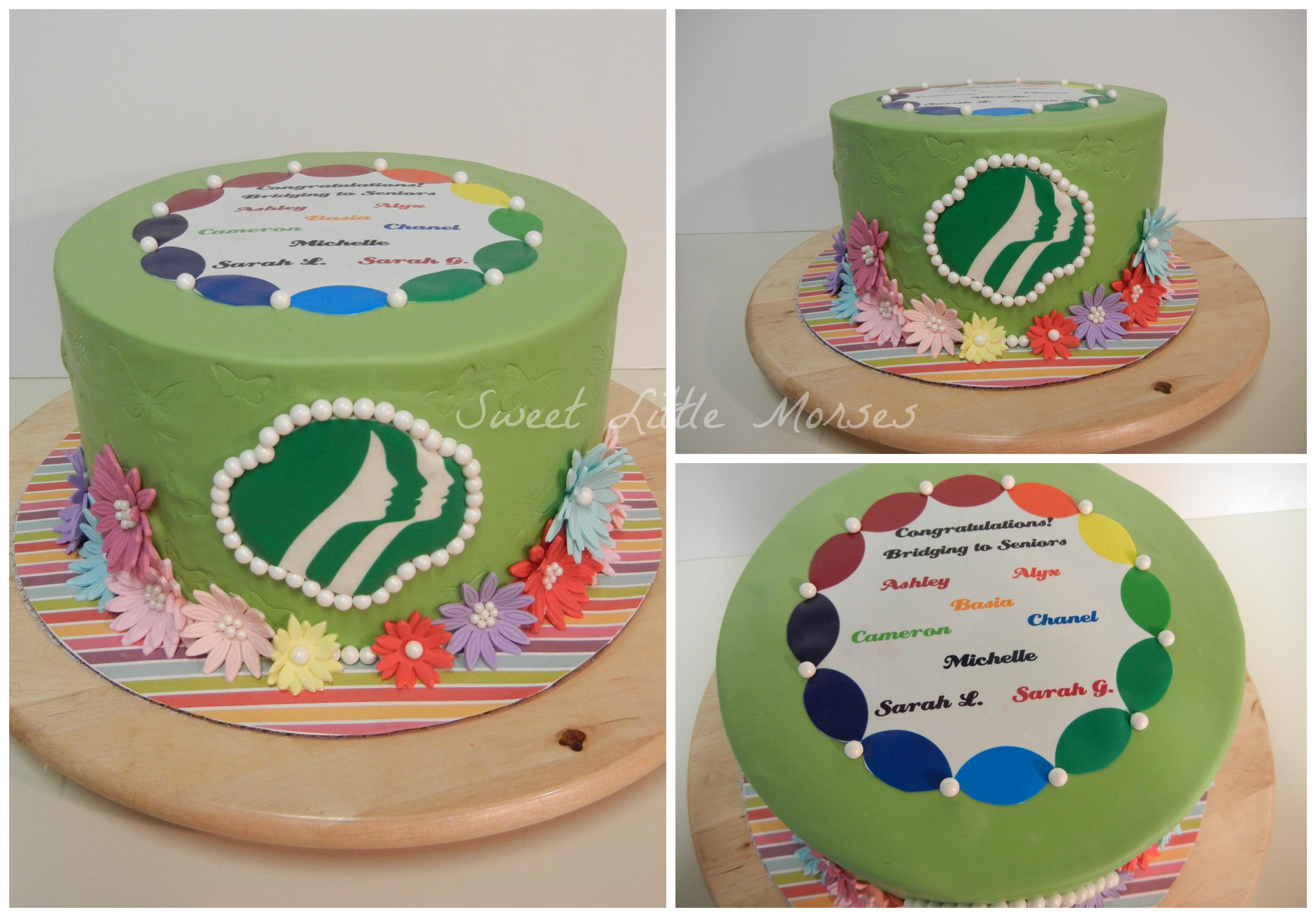 Cake Ideas For Girl Scouts : Sweet Little Morsels, LLC