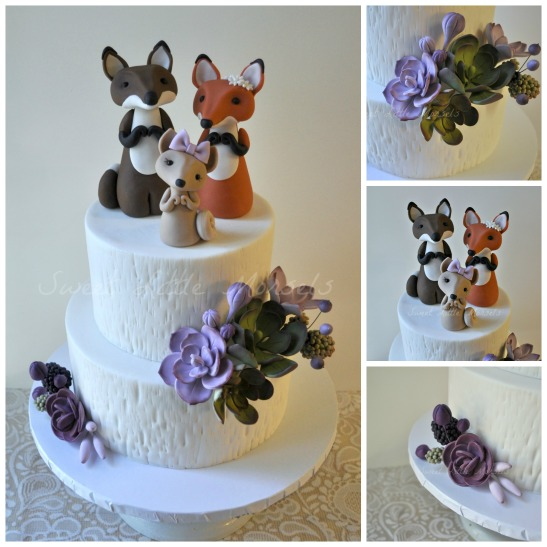 PicMonkey Collage - Fox Family Cake