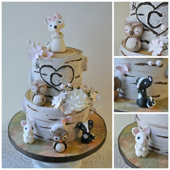 PicMonkey Collage - Woodland Cake